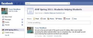 AMP Facebook Group screenshot